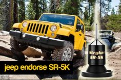 SR- 5K magnet mount antenna. Great Partner of jeep