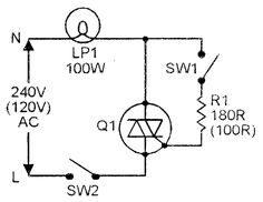 Triac Simple AC power switch with resistive (lamp) load Electronics Storage, Cool Electronics, Electronics Projects, New Electronic Gadgets, Electronic Circuit Projects, Best Home Automation, Electronic Schematics, Smart Home Technology, Circuit Diagram