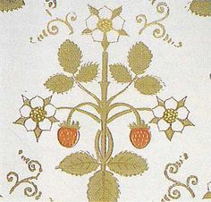 A W N Pugin. Wallpaper design, 1840s.  Wedding stationary inspiration
