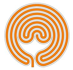A 7-circuit classical labyrinth in Latvian style