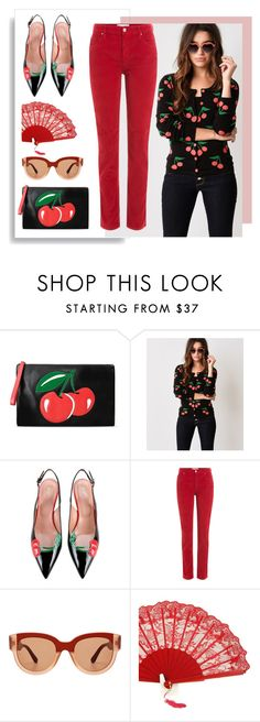 """""""Cherries"""" by bysc ❤ liked on Polyvore featuring RED Valentino, Sourpuss, Étoile Isabel Marant and Marni"""