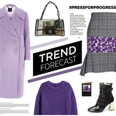 Purple Power by euphemiasun97 on Polyvore featuring River Island, MSGM, Chanel and Yves Saint Laurent
