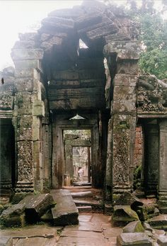 Temple ruins by oledoe, via Flickr