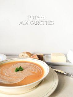 Carrots and Pears Soup |  Potage aux carottes et poires | PROJET PASTEL