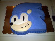 Sonic the Hedgehog Birthday Cake Sonic The Hedgehog Cake, Hedgehog Birthday, Birthday Cake Decorating, Easy Desserts, Treats, Birthday Ideas, Cakes, Food, Sweet Like Candy
