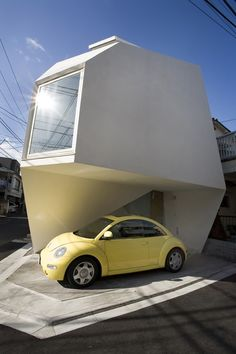 Modern & Minimalist Small House in Tokyo It's called the Reflection of Mineral. This modern & minimalist small house is in downtown Tokyo, Japan.  At 900 square feet on a 480 square foot lot it's the epiphany of future sustainable housing