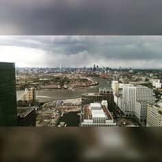 Martin's new office views of London by _mariacolom