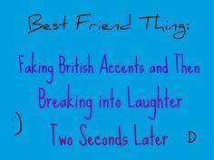 Its a best friend thing! Alexa and Yuri  wear ur BFF Necklace tomorrow! BOB!