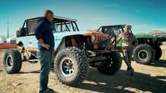 "The King Of The Hammers is usually described as ""Burning Man meets Mad Max"" because everyone's filthy and the cars look like metal monsters heading to war. Now that you've seen Top Gear's Chris Harris and Sabine Schmitz take it on, you need to know more, right?    http://www.johnelwaysclaremontcdjr.com/"
