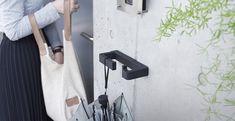 玄関用マルチフック「vik」に待望のブラック登場。  #玄関 #エントランスフック #エントランス #vik #屋外 #屋外設置可能 https://www.moritaalumi.co.jp/product/detail.php?id=17