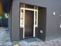 EVE - Architecten - Riet - eigentijds - detail - voordeur