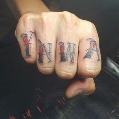You'll never walk alone. #tattoo #thekop #YNWA #anfield #liverpool #finger #agger #daniel