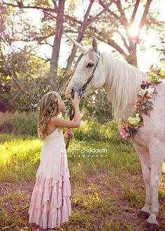 Gold Unicorn Horn Horse Size 12