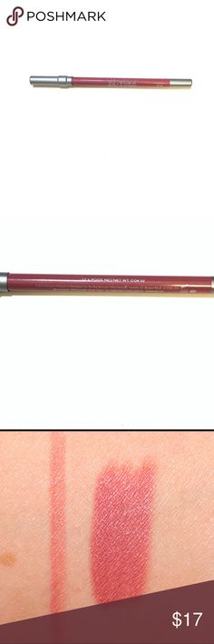 Urban Decay Lip Liner Brand New || Full Size || Urban Decay Glide On Lip Pencil in Rush (pink-mauve w/soft pearl)  A creamy, 24-hour wear lip pencil that lines and primes lips. Urban Decay Makeup Lip Liner