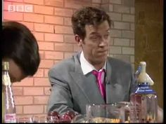 Stephen Fry as the understanding barman - A bit of Fry & Hugh Laurie - BBC comedy