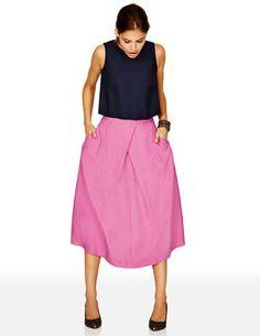 Pleated Full Skirt from Boden $198