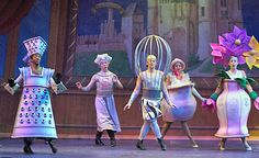Beauty and the Beast costume and set ideas