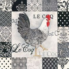 ROOSTER DECOUPAGE                                                                                                                                                                                 More:
