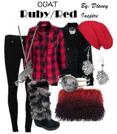 My Disney Inspire: Ruby/Red~ Once Upon a Time Collection