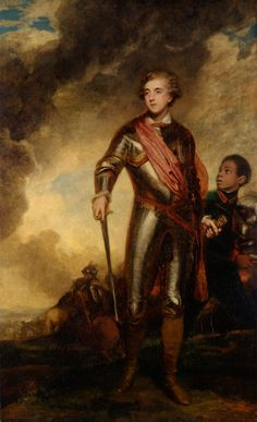 Charles Stanhope, Third Earl of Harrington. Sir Joshua Reynolds. 1782.