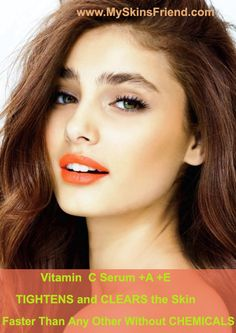 Full of natural (NOT synthetic) VITAMINS C+E+A - TIGHTENS and CLEARS the skin faster than any other without CHEMICALS. Fine lines and wrinkles will begin to smooth out, sun damage and age spots become less visible. These results will continue to improve over time. Best ORGANIC Vitamin C Serum because of its Fast results Tightens the skin Clears the skin from imperfections Antioxidant Anti Aging Anti-wrinkle Pore reducer Skin lightener.