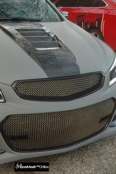 RaceMesh™ Grilles > Made To Order! Setting vehicles apart one RaceMesh Grille at a time! Chevy Ss Sedan, Holden Australia, Vehicles, Handmade, Accessories, Design, Hand Made, Car, Craft