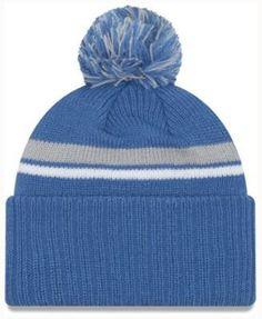 huge discount 55e56 47e4c New Era Detroit Lions Diamond Stacker Knit Hat Men - Sports Fan Shop By  Lids - Macy s