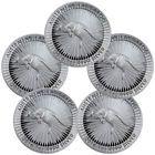 ♤☼ Lot of 5 - 2016-P $1 Australia 1 Troy Oz .9999 Fine Silver Kangaroo SKU37199 Best Prices  #troyoz #lotoz #australiaoz http://ebay.to/2oREGCF