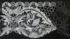 The Textile Blog: Honiton Lace (Flemish Lace) Oh to be able to do this!