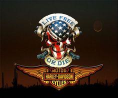 Harley Davidson The Shorts emblem.