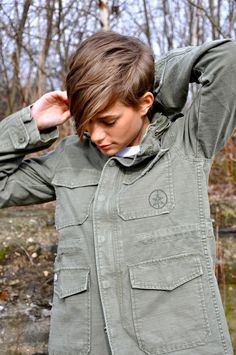 Youthful pixie that makes an otherwise masculine look a very femenine alternative