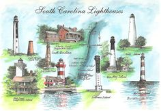 south carolina lighthouses - Google Search