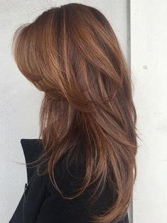 Pretty Hairstyles, Straight Hairstyles, Hairstyle Ideas, Curly Haircuts, Trendy Haircuts, Elegant Hairstyles, Long Thick Hair Hairstyles, Layer Haircuts, Haircuts For Long Hair With Layers