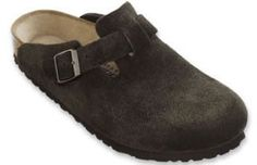 Birkenstock Boston Mocha Suede Clogs with a soft footbed Birkenstock Boston Clog, Birkenstock Arizona, All Fashion, Fashion Trends, Winter Shoes, Retail Therapy, Mocha, Me Too Shoes