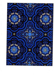 Amazon.com: BellaBella by the sea ~~~'s review of Decorative Tile Designs: Coloring Book by ...