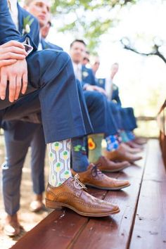 add some personality to a group of groomsmen by letting them pick fun socks to wear on the day of! of the day ideas Oklahoma Wedding Inspiration - Oklahoma Wedding Magazine Wedding Picture Poses, Wedding Photography Poses, Wedding Pictures, Photography Ideas, Bride Pictures, Party Photography, Fashion Photography, Wedding Group Photos, Wedding Posing