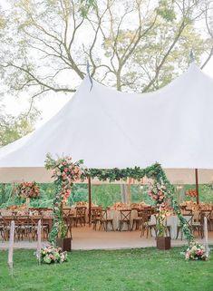 Wedding Receptions Lush Maryland Wedding with Creative New England Design Details Outdoor Wedding Reception, Marquee Wedding, Diy Wedding, Wedding Events, Dream Wedding, Backyard Tent Wedding, Wedding Ideas, Outdoor Weddings, Glamorous Wedding