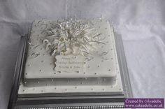 25th Wedding Anniversary Cake Idea