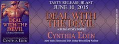 Deal With the Devil by Cynthia Eden release blast & giveaway