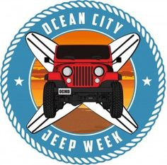 #OCEvents - Where to Go: Ocean City Jeep Week August 21-24 is Fun-Filled Family Entertainment for Jeep Lovers and Spectators Alike...