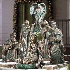 Nativity Garden Statues, Touchstone Catalog