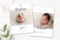 Studio Photography Magazine Template - Newborn Photographer Studio Welcome Magazine - Photographer templates