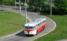 Tatra T400 Nostalgia, Rail Transport, Buses, Cars And Motorcycles, Transportation, Public, Europe, Trucks, Urban