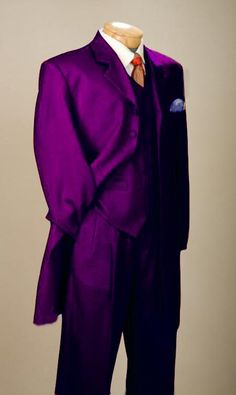 purple suit for men | SKU#PRL8013 Fashionable Purple Men's Zoot Suit $109