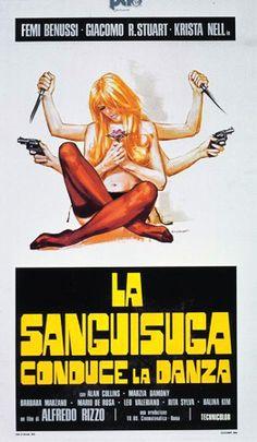 """The Bloodsucker Leads the Dance (Alfredo Rizzo, 1975, """"La Sanguisuga Conduce La Danza,"""" A. K. A. The Passion of Evelyn)"""