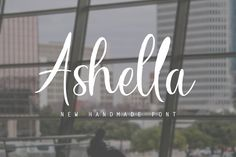 Ashella Font by graphiccrew on @creativemarket