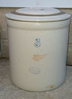 6 Gallon Red Wing Water Cooler Stoneware Crock Spigot