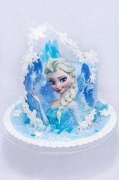 Elsa Cake - Cake by Art Bakin'