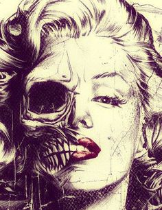 marlin monroe skull