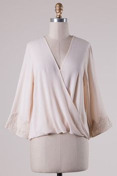 Crochet is one of the romantic trends for 2016! Lovely delicate style top from MOD&SOUL #crochet